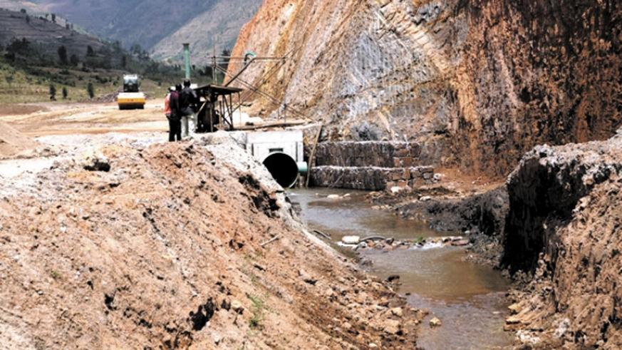 The dam at Muyanza is expected to have the capacity to store over two million cubic meters of water. (Peterson Tumwebaze.)
