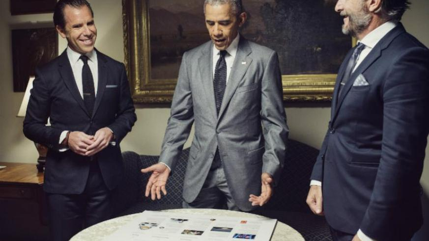 In the Roosevelt Room of the White House, President Barack Obama discusses plans for the issue he is guest editing with WIRED's Editor-in-Chief Scott Dadich and Editorial Director ....