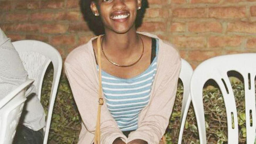 Sharon K Bayingana will take part in a debate programme in the US this month. Courtesy photo