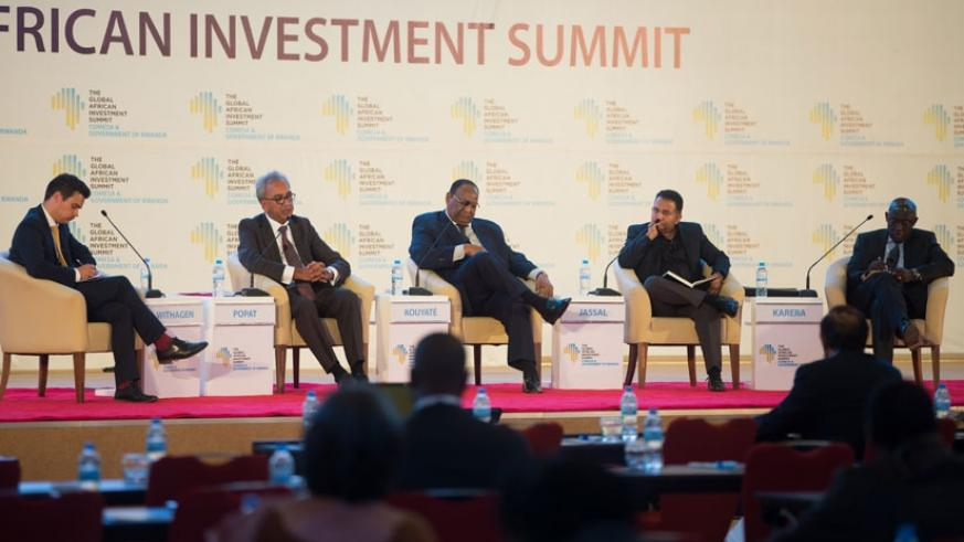 L-R; Lord Popat, Kouyate, Jassal, and Karera during the panel discussion. (Photos by Timothy Kisambira)