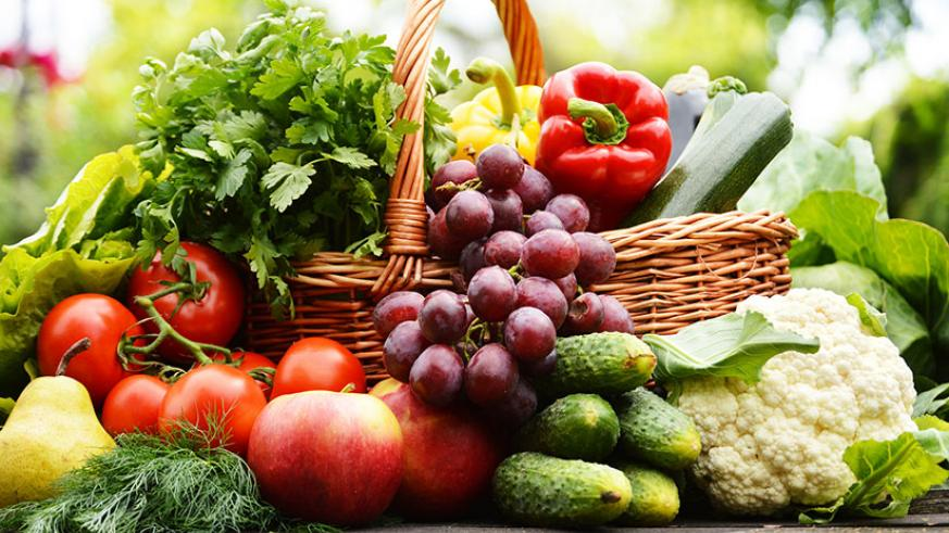 Fruits and vegetables. / Internet photo.
