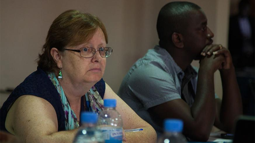 Participants during the consultative meeting. / Nadege Imbabazi