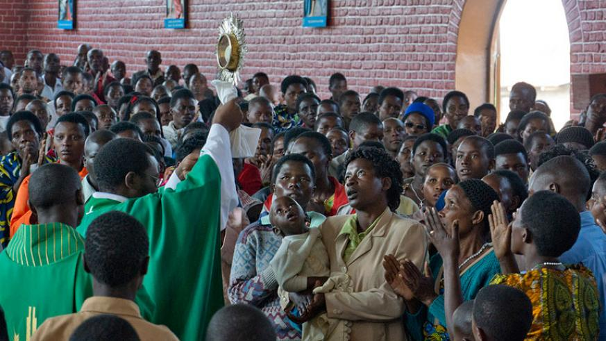 Catholic Church apologised for the role played by some of its members in 1994 Genocide against the Tutsi. / Courtesy