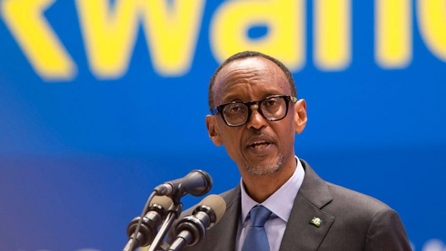 Image result for Paul Kagame Images village urugwiro