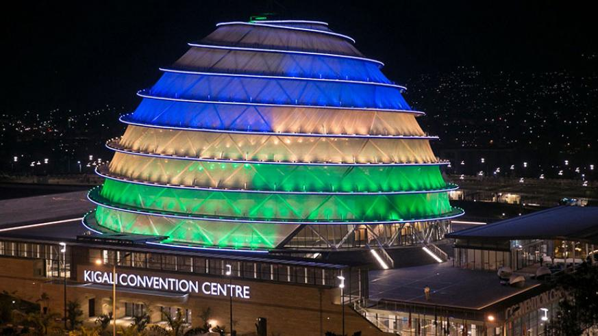 Kigali Convention Centre is one of the venues expected to display New Year's Eve fireworks. / Internet photo