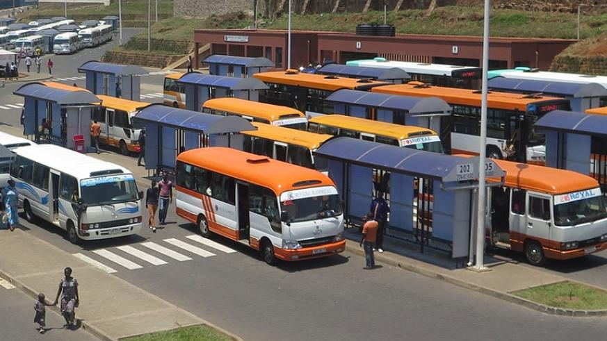 Buses wait for passengers at Downtown bus terminal. Public transport users were not satisfied with the services provided by most bus companies, with about 632 complaints lodged aga....