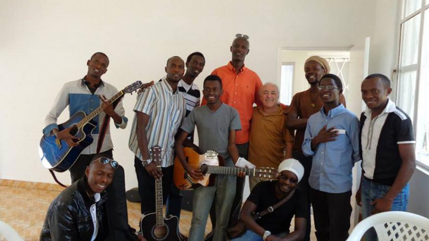 Simba jazz  band members in a group photo. / Courtesy