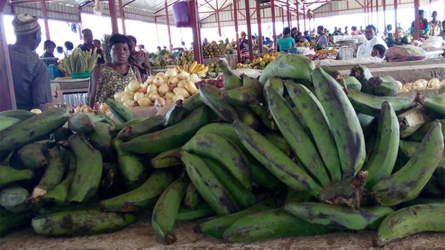 Banana prices have almost doubled in Ngoma.  (Appolonia Uwanziga)