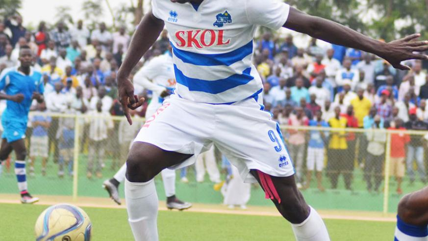 Malian striker Moussa Camara was  handful for SC Kiyovu defenders all afternoon as Rayon Sports thrashed their  rivals 3-0 on Friday at Kigali Regional Stadium.