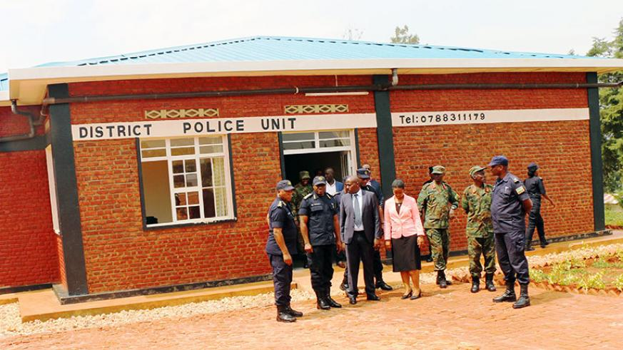 One of the Police facilities that were constructed by the residents of Gatsibo District. / File.
