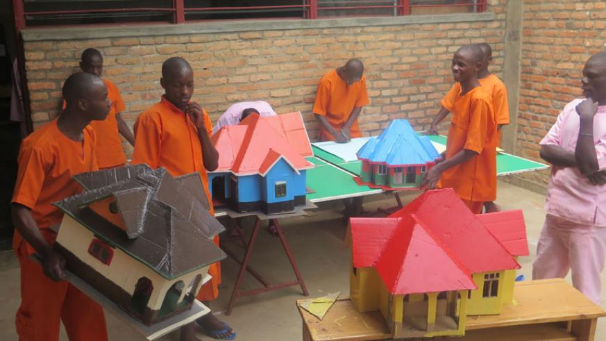 At the center child inmates follow vocational training course. / File
