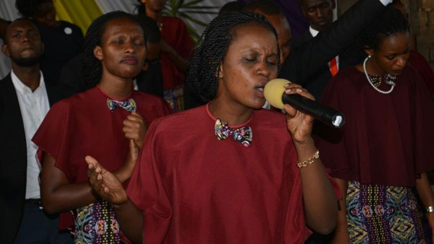 The choir delivers stunning performance on Sunday. (Photos by Frederic Byumvuhore)