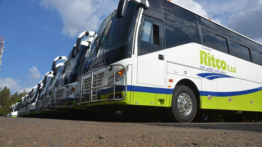 RITCO Ltd has unveiled 20 new buses to replace former ONATRACOM fleet on upcountry routes. Sam Ngendahimana.