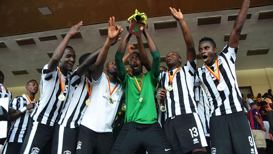 APR FC will go into Saturday's clash with Zanaco fresh from winning the Heroes' Cup after defeating archrivals Rayon Sports  1-0. (S. Ngendahimana)