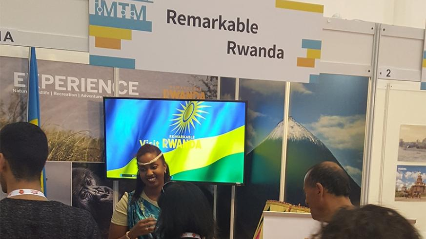 The Embassy of Rwanda in Israel, earlier this week, participated in the International Mediterranean Tourism Market Exhibition 2017 at the Tel Aviv Conventional Centre.