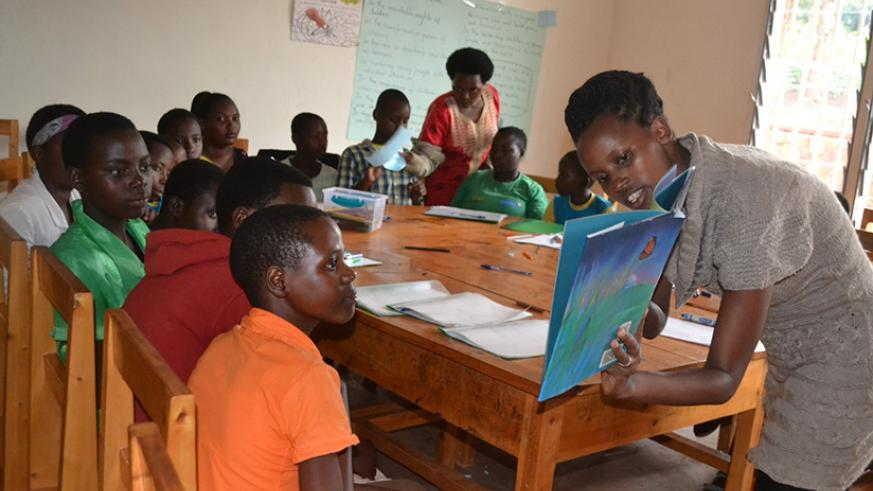 Pupils in a reading lesson. A good reading culture should be inculcated at an early age. / Lydia Atieno