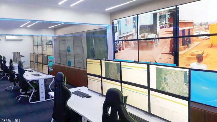 ECTS control room