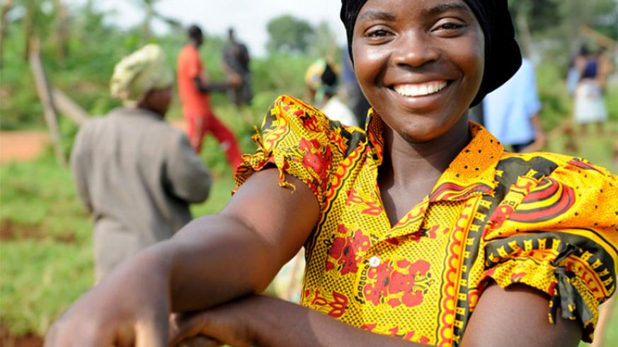 Women in rural areas sustain their families through agriculture. / Timothy Kisambira