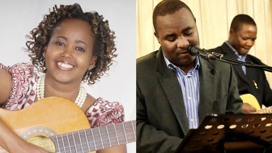 LEFT: Mombasa based gospel songbird Marion Shako will perform in Kigali on Easter. RIGHT: Burundian musician Apollinaire Habonimana (in front) has performed several times in Kigali....