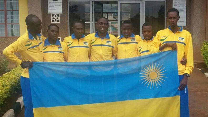 Rwanda will compete in only the men's senior category after the mixed relay team was removed due to limited funds. Geoffrey Asiimwe.