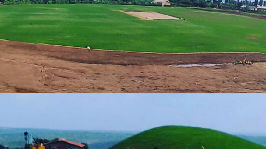 The Rwf950.2 million state-of-the-art international cricket stadium will be inaugurated in October. / Courtesy