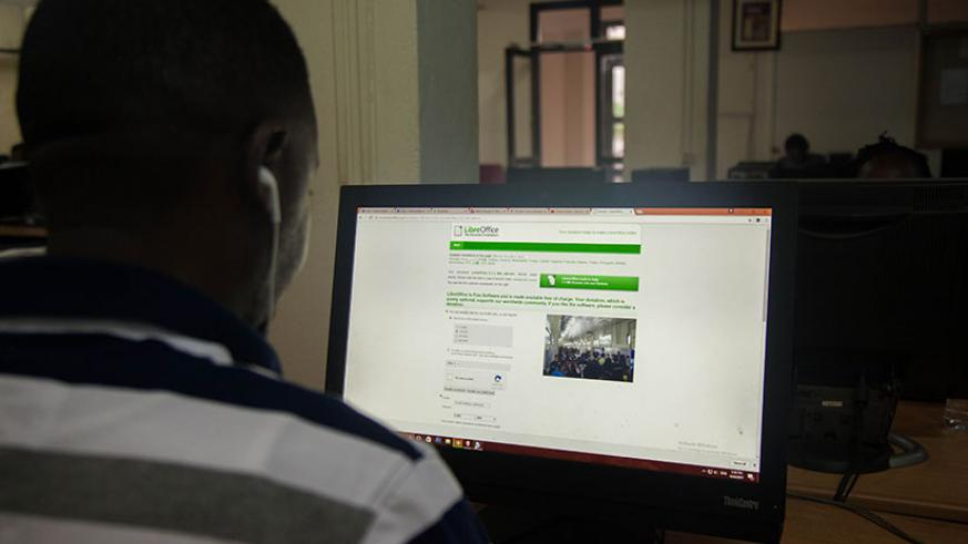 In May last year, the government launched a $3m cyber security system aimed at protecting public and private institutions against cyber crimes. / Nadege Imbabazi