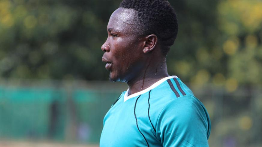 Jean de Dieu Nsabimana is one two players from Pepiniere that have been called to the Amavubi provisional squad.