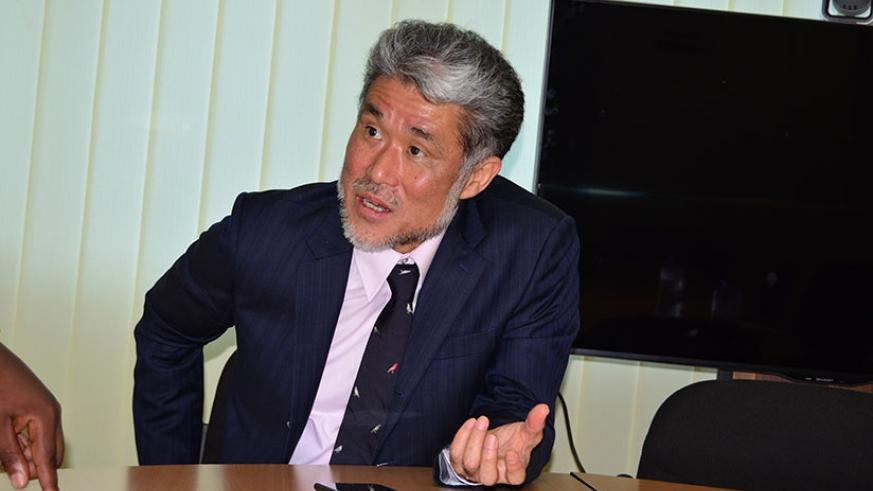 Toda Takao, JICA's vice president in charge of human security and global health. (Courtesy)