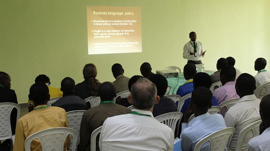 Participants follow proceedings during the conference. / Courtesy photo