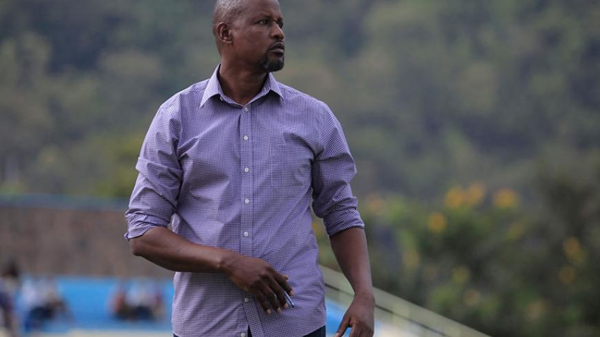 Sunrise FC head coach Andre Casa Mbungo is yet to reveal if he will extend his contract with the club at the of the season. (Sam Ngendahimana)