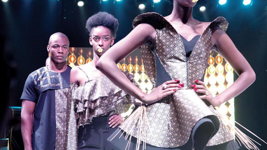 Some of the creations showcased at the Kigali Fashion Week last year. / File photo