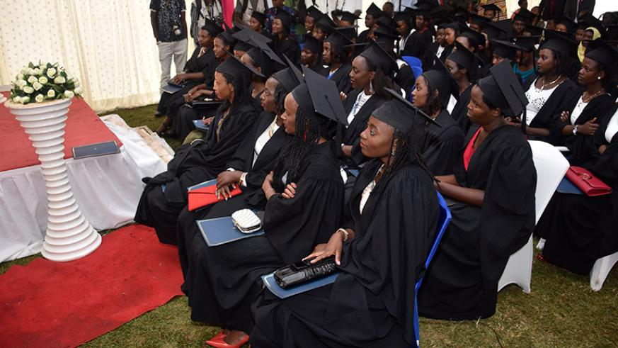 Students at a graduation ceremony. Both teachers and students should do more research on the new trends in the market to stay updated about the available opportunities.   (Photo b....