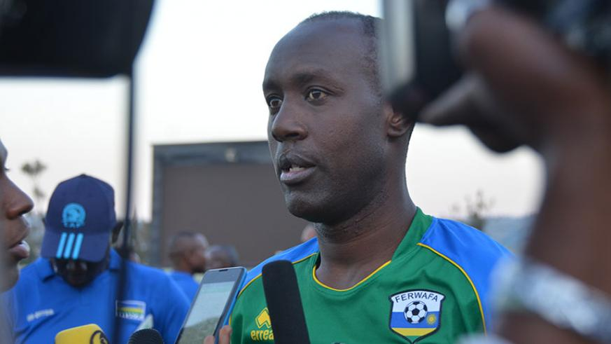 Karekezi's appointment as Rayon Sports head coach has made headlines in the local media even before he puts pen to paper. / Sam Ngendahimana