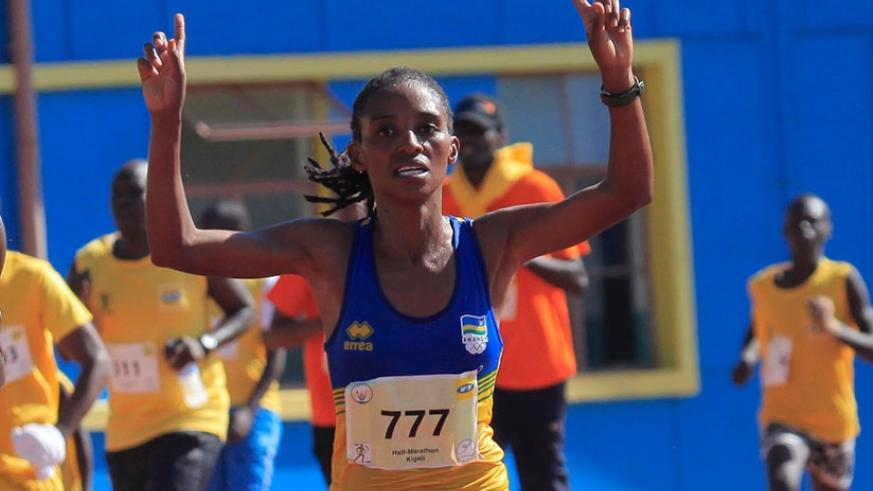The 20-year old Nyirarukundo will be making her debut at the competition but says she is not afraid to compete against the world's best athletes. File.
