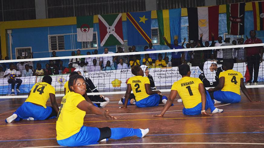 Six countries will participate in the 2017 ParaVolley African Championship which will take place in September in Kigali. / Sam Ngendahimana