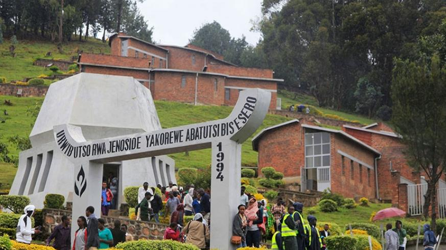 Bisesero Genocide memorial in Karongi District is one of the four memorial centres that are set to be listed as UNESCO world heritage sites.  File.