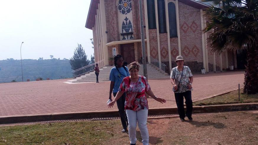 To celebrate the day, many people from all over the world visit the Shrine of Our Lady church in Kibeho, Nyaruguru District. / Courtesy