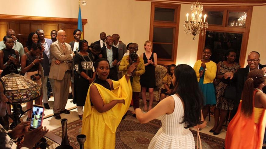At the ceremony, guests were treated to traditional Rwandan food and performances, which were well received and appreciated by the audience. Courtesy pictures.