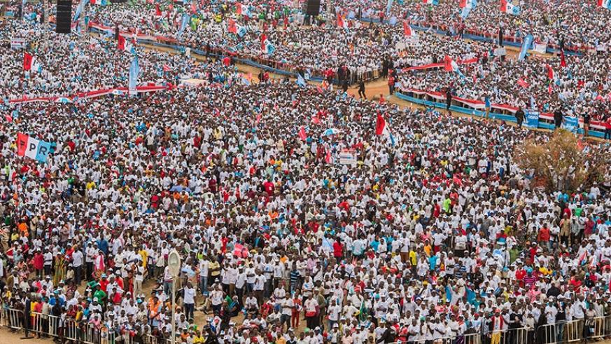A record crowd turned up for Kagame's final presidential campaign rally in Bumbogo, Gasabo District on August 2. The incumbent was subsequently re-elected to another seven years in....