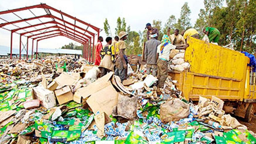 Nduba dumping site. Some local governments have started to generate revenue from waste. File.