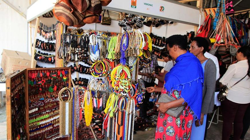 The expo has attracted over 500 exhibitors from different countries this year. S. Ngendahimana.