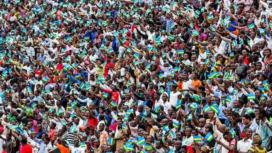 Over 30,000 people were inside the Amahoro National Stadium on Friday to witness Presidential Inauguration. File.