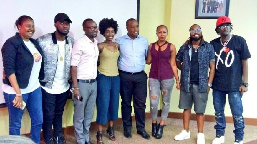 MTN management joins Rwandan music stars Urban Boys, Riderman and Charly and Nina. The stars will entertain guests at the Yolo anniversary in Rubavu, a popular lake resort in the W....