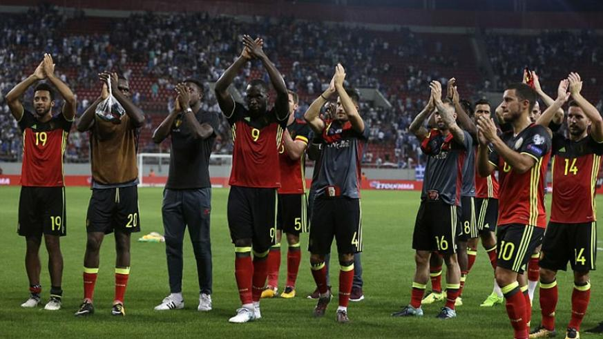 World ranked ninth, Belgium became the sixth team to qualify for the major tournament held by Russia next summer. (Net photos)