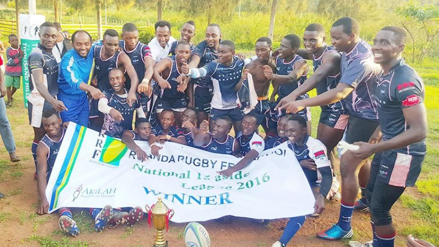 Thousand Hill Rugby Football Club are the national league defending champions. File photo