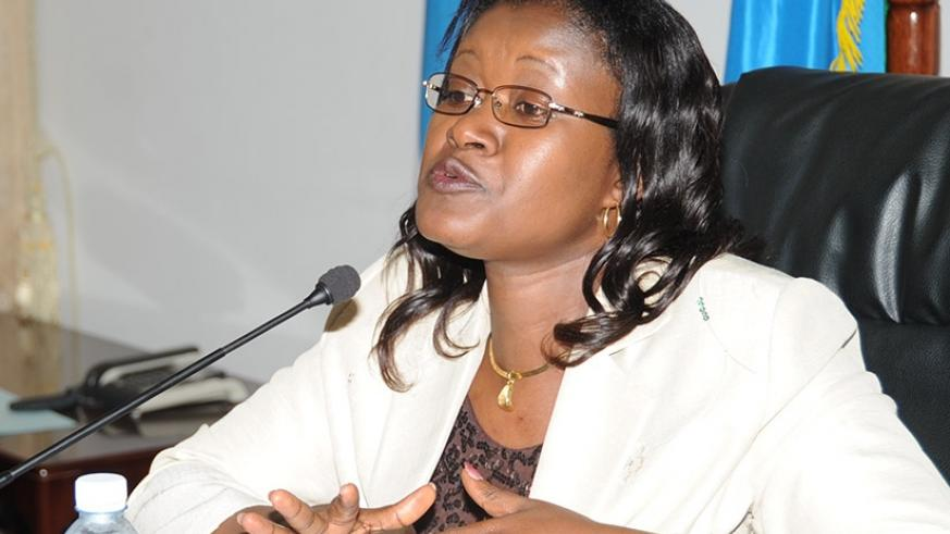 Mukaruliza speaks during a past event. File.
