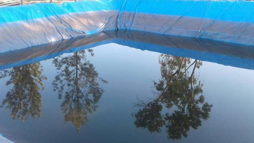 One of the artificial water bodies that are used to store water for drought. / Courtesy