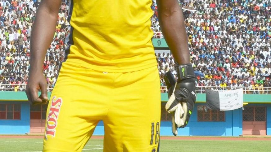 Rayon Sports Goalie Evariste Mutuyimana passed away yesterday. / Sam Ngendahimana