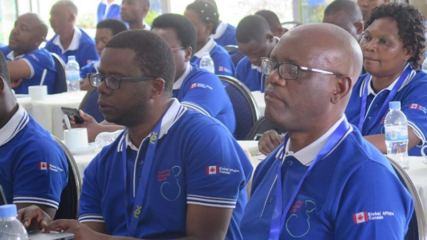 Some of the participants during the project launch.  (Eddie Nsabimana)