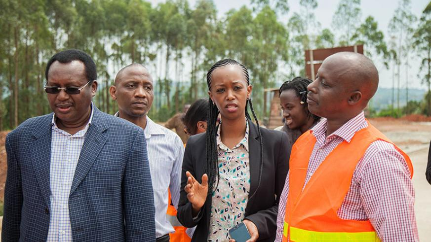 L-R: Bosco Rusagara, the Director of Infrastructure and Transport at the East Africa Business Council, TMEA Rwanda Country Director Patience Mutesi and Moses Sabiiti, TMEA Uganda C....
